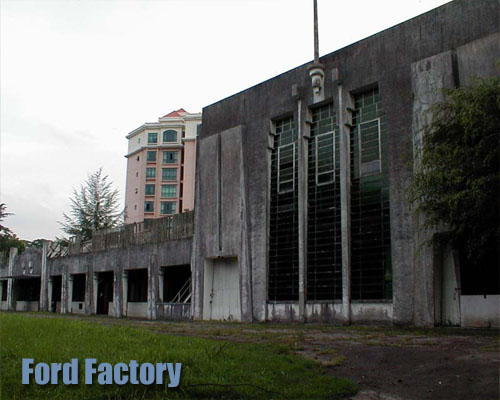Haunted Ford Factory